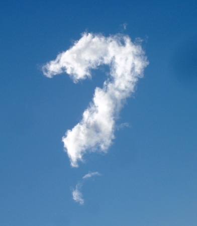 Question mark cloud from the CAS gallery at http://bit.ly/13jDtn4